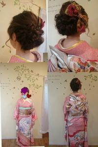 2017年 成人式 - 松江市美容室 hair atelier bonet(ヘアアトリエボネット)