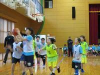 0108練習試合 - 日出ミニバスケットボール