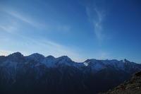 初冬の頃に -part 3-  蝶ヶ岳 - つながる*noyama