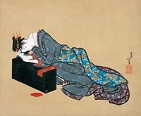 「北斎と肉筆浮世絵」展、鎌倉国宝館 - ヴェネツィア ときどき イタリア・2