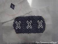 ご依頼品 針山用刺繍2を刺す - ロシアから白樺細工