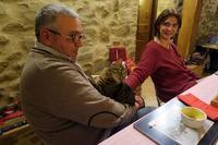 新年会おねだり猫ちゃん人気者 - ペルージャ イタリア語・日本語教師 なおこのブログ - Fotoblog da Perugia