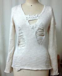 ☆セーターにプラス・最近のリメイク・☆ - ガジャのねーさんの  空をみあげて☆ Hazle cucu ☆