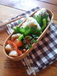 1.11 干しいもおこわのおにぎり弁当&アニメとドラマ - YUKA'sレシピ♪