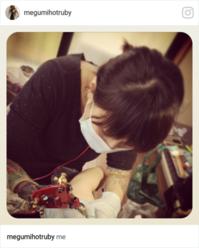 insta36 watashiとマスク(けっこう長文) - RUBY'S ROOM  (Hot Ruby Tattoo)女性彫師Megumiのブログ