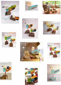 小鳥オブジェopen sesame物語1 - Art Lesson