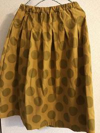 かんたんすっきりギャザースカート - beans*note まめ日記