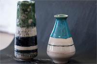 花瓶 - 藍の郷