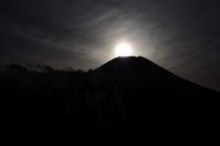 12月24日のダイヤモンド富士 - 風の香に誘われて 風景のふぉと缶