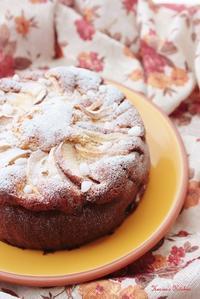 りんごとさつまいものしっとりケーキ。 - Heaven's Kitchen