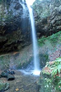 真冬の滝打たれ - くろちゃんの写真