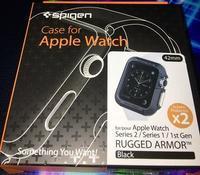 Apple Watchのケース・ラギッドアーマー - やもりのカート三昧