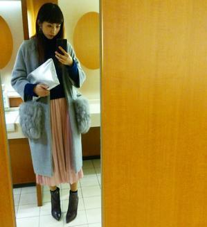 ピンクのスカート。 - 水砂マイナのBeauty Diary | Beauty-Navi Official Model