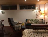 フラムランプ追加で明かりを楽しむ夜リビング  インテリア・収納部門 - 10年後も好きな家