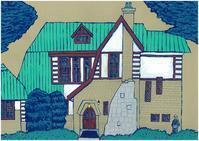山本有三記念館 - たなかきょおこ-旅する絵描きの絵日記/Kyoko Tanaka Illustrated Diary