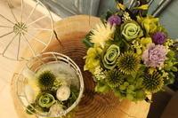 プリザーブドフラワーのアレンジメント - 北赤羽花屋ソレイユの日々の花