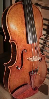 バイオリン完成! - 村川ヴァイオリン工房