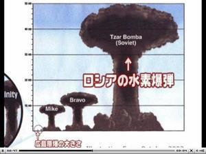 現在の核兵器の破壊力(核戦争に勝者はいません) - UFO 宇宙人 は実在する。