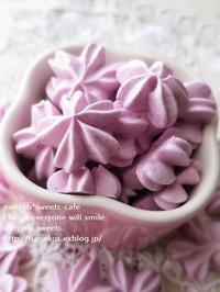 桜色フランボワーズのメレンゲ (パン・スイーツ部門) - nanako*sweets-cafe♪