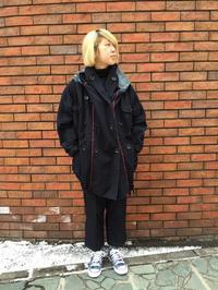 力織機チノボーン×BOROリングコート(ファッション・ビューティー部門) - SAPPORO STAFF BLOG