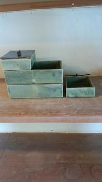 重箱です。 - 陶芸教室 なすびの花