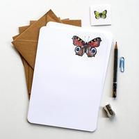 ハナさんの蝶のイラストができるまで 動画あり! - ブルーベルの森 ブログ
