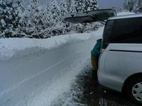取立山は・・ふかふかの新雪でした・ - 福井山歩会