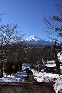 新倉浅間神社 - 風とこだま