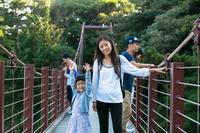 城ケ崎つり橋. 怖かった~~ - Shimakaze Life     ~家族3人ゆる~い時間をプーケット島で楽しんでおります~