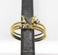 『sottile ring の蝶とダイヤモンドが...』 - 「Chikara」のChumba