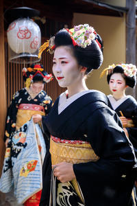 新年の挨拶回り(宮川町)その1 - 花景色-K.W.C. PhotoBlog