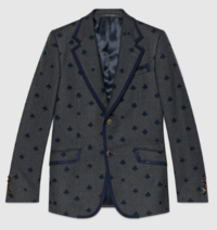 【GUCCI】Heritage flannel jacket with bees - てっち衣装部ログ