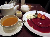 【京都駅ポルタのリプトンであまおう苺のパンケーキ】 - お散歩アルバム・・寒中の徒然