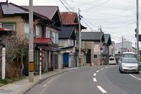 鰺ヶ沢(漁師町の建物)大間越街道沿い - 古今東西風俗散歩(町並みから風俗まで)
