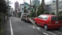 川崎市から他府県ナンバーの不動車をレッカー車で廃車の出張引き取りしました。 - 廃車戦隊引き取りレンジャー