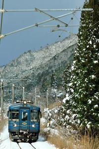 雪の日 - 今日も丹後鉄道
