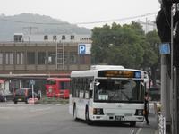 鹿児島駅前 - リンデンバス ~バス停とその先に~
