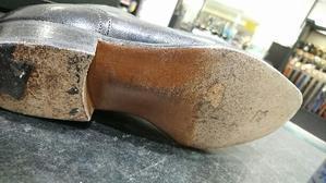 革底も乾燥予防を! - ルクアイーレ イセタンメンズスタイル シューケア&リペア工房<紳士靴・婦人靴のケア&修理>