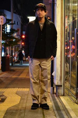 大寒波スタイル~SHUGO~ - DAKOTAのオーナー日記「ノリログ」