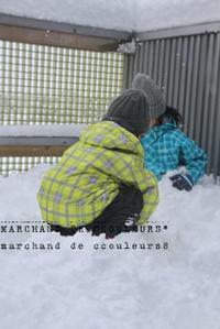 雪遊び - marchand de couleurs*