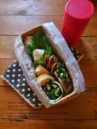 1.16 菜花肉巻き・おにぎり弁当 - YUKA'sレシピ♪