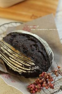 ヨーグルト酵母のチョコカンパ&スクエアネックのシンプルワンピース(パン・スイーツ部門) - komorebi*