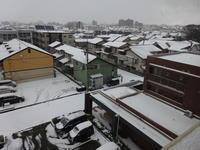 金沢もようやく雪模様となりました。 - 家庭サイエニストabuさん家の美味あれこれ