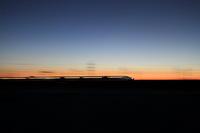 新春の訪れ~世界が目を覚ますその前の~ - 新幹線の写真