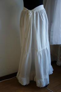 麻ロングスカート44  sold out! - スペイン・バルセロナ・アンティーク gyu's shop