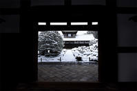 東福寺・開山堂 雪景色 - ちょっとそこまで