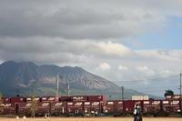 鹿児島貨物ターミナルにて - 荷物置き場