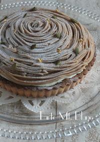 最後のタルトモンブラン - Tortelicious Cake Salon