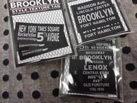 ニューヨーク ブルックリンネームタグ - おさや糸店