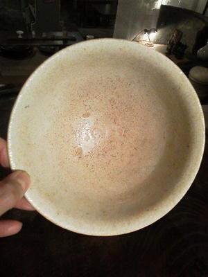 李朝白磁碗 - あいろく